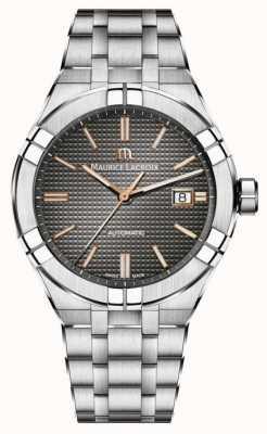 Maurice Lacroix Aikon automático | Bracelete de prata AI6007-SS002-331-1