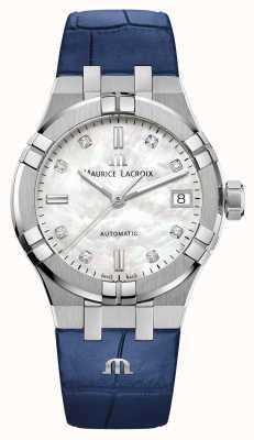 Maurice Lacroix Aikon | automático | pulseira de couro AI6006-SS001-170-2