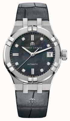 Maurice Lacroix Aikon automático | pulseira de couro AI6006-SS001-370-1