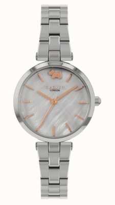 Radley Vista oeste | pulseira de aço inoxidável | mostrador prateado RY4509