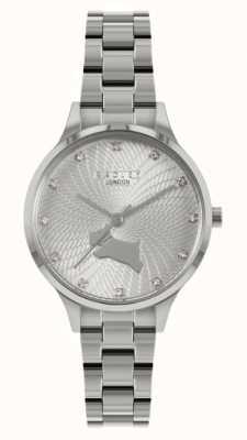 Radley Maneira Wilton | pulseira de aço inoxidável | mostrador prateado RY4517