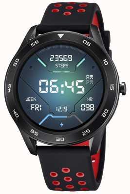 Lotus Smartime | homens | pulseira de silicone preta + pulseira livre L50013/4