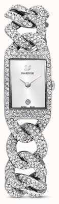 Swarovski Relógio cocktail | pulseira de aço inoxidável com conjunto de cristal | 5547617