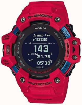 Casio G-shock | g-squad | monitor de freqüência cardíaca | bluetooth | vermelho | GBD-H1000-4ER