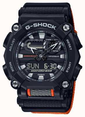 Casio G-shock | edição ltd | serviço pesado | hora mundial | laranja GA-900C-1A4ER