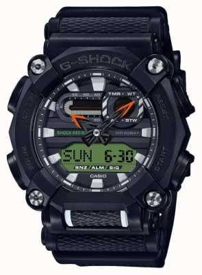 Casio G-shock | edição ltd | serviço pesado | hora mundial | Preto GA-900E-1A3ER