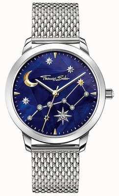 Thomas Sabo Céu estrelado cosmo das mulheres | pulseira em malha de aço | SET_WA0372-217-209-33
