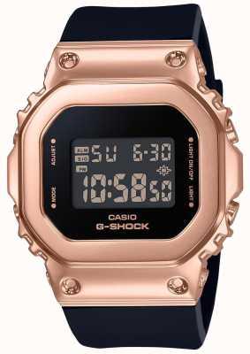 Casio Relógio compacto de ouro rosa G-shock GM-S5600PG-1ER