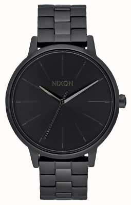 Nixon Kensington | tudo preto | pulseira ip preta | mostrador preto A099-001-00