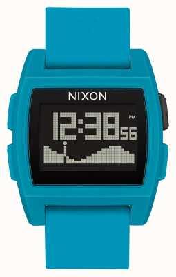 Nixon Maré baixa | resina azul | digital | pulseira de silicone azul A1104-2556-00