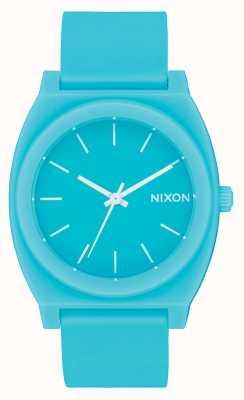 Nixon Caixa de tempo p | mineral fosco jade | pulseira de silicone jade | discagem de jade A119-3011-00