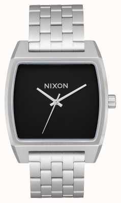 Nixon Rastreador de tempo | preto | pulseira de aço inoxidável | mostrador preto A1245-000-00