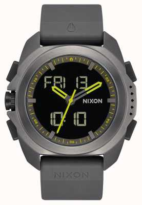 Nixon Ripley | gunmetal | digital | pulseira tpu cinza metal | A1267-131-00