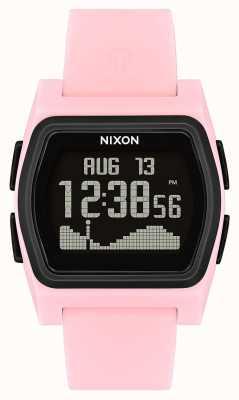 Nixon Rival | rosa / preto | digital | strao de silicone rosa A1236-2531-00
