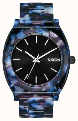Nixon Acetato do contador do tempo | preto / multi | mostrador preto A327-2336-00