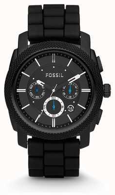 Fossil Mens relógio de pulseira cronógrafo preto FS4487