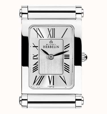 Michel Herbelin Antarès | relógio de aço inoxidável apenas | números romanos H.17048/01
