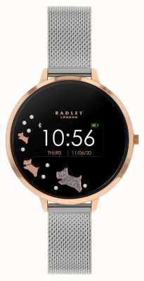 Radley Rastreador de atividades da série 03 | pulseira de malha de aço inoxidável RYS03-4001