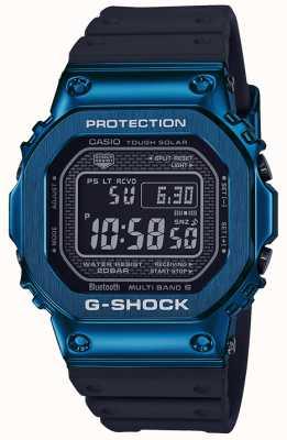 Casio G-shock azul resistente azul solar banhado a ip GMW-B5000G-2ER