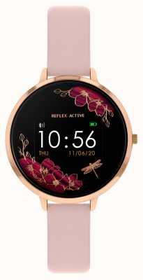 Reflex Active Relógio inteligente da série 3 | tira rosa nude RA03-2038