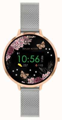 Reflex Active Relógio inteligente da série 3 | pulseira de malha de aço inoxidável RA03-4037