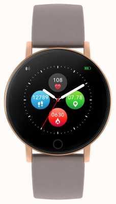 Reflex Active Relógio inteligente da série 5 | monitor hr | tela de toque colorida | cinta cinza RA05-2034
