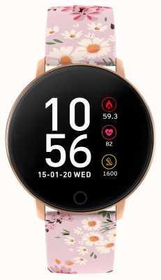 Reflex Active Relógio inteligente da série 5 | monitor de hora | tela de toque colorida | alça rosa RA05-2062