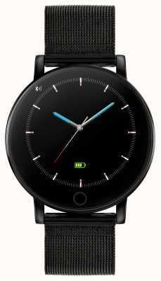 Reflex Active Relógio inteligente da série 5 | monitor hr | tela de toque colorida | malha de aço ip preta RA05-4024