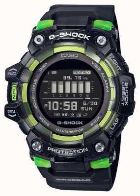 Casio G-shock | esportes vitais série | pulseira de silicone preta | mostrador preto GBD-100SM-1ER