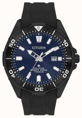 Citizen Eco-drive masculino promaster wr200 BN0205-10L
