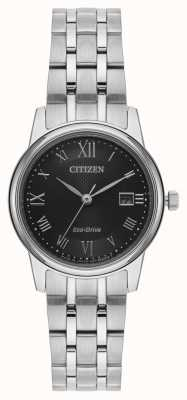 Citizen Pulseira feminina de prata eco-drive EW2310-59E