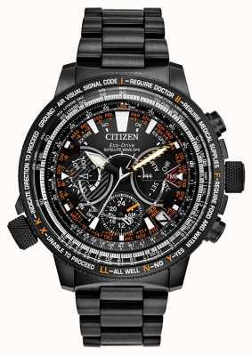 Citizen Edição limitada de GPS masculino com eco-drive CC7015-55E