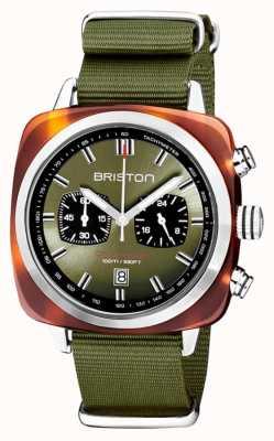 Briston | clubmaster sport | acetato | azeitona | 20142.SA.TS.26.NOL