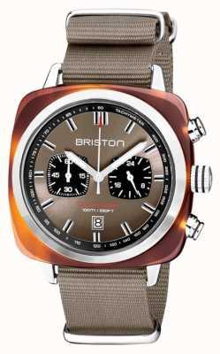 Briston | clubmaster sport | acetato | taupe | 20142.SA.TS.30.NT