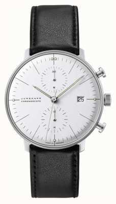 Junghans Max bill cronoscópio vidro safira 27/4600.02