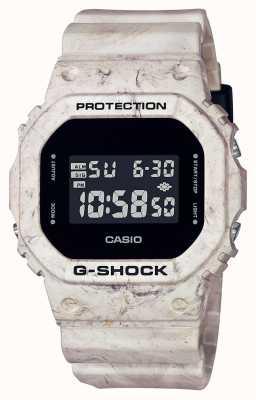 Casio G-shock   mármore ondulado utilitário   tela digital DW-5600WM-5ER