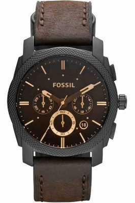 Fossil Mens relógio cronógrafo de máquina FS4656