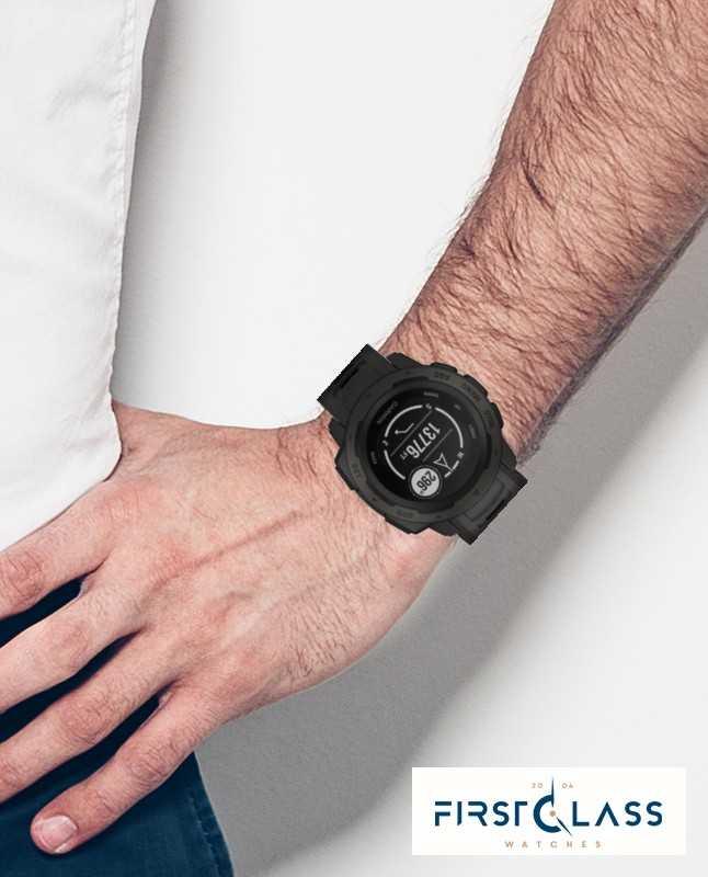 63fe02a7d24 Garmin Correia De Silicone Gps Ao Ar Livre Instinto De Silicone 010-02064-00  - First Class Watches™ BRA