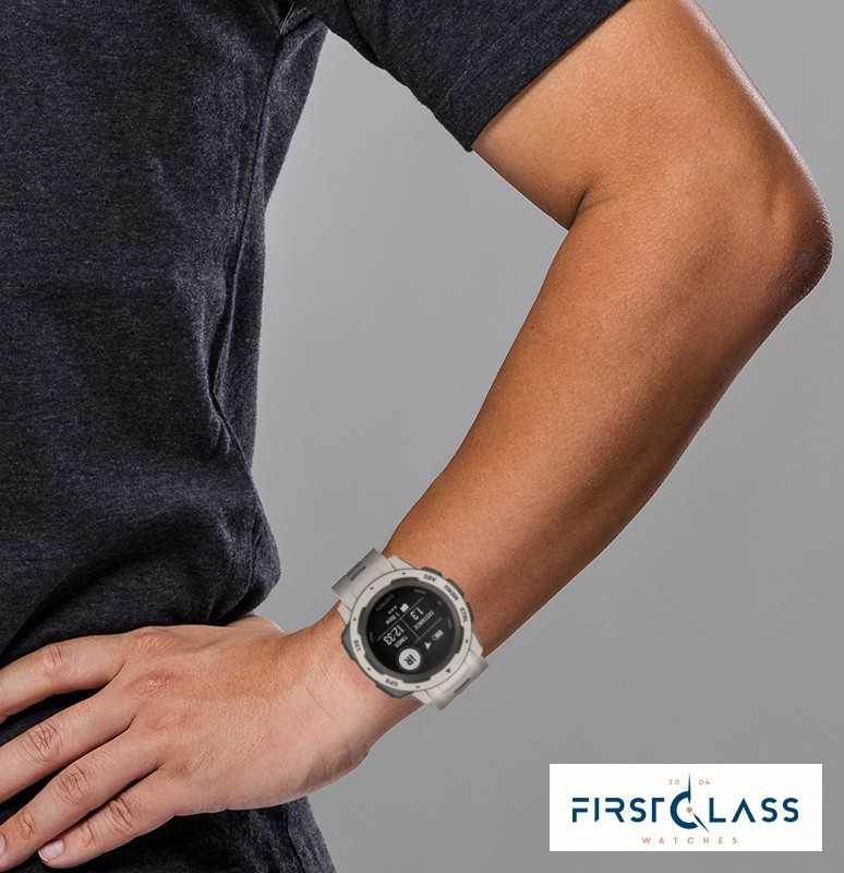 d377ece387b Garmin Pulseira De Silicone Para Instinto Tundra Outdoor Gps 010-02064-01 -  First Class Watches™ BRA